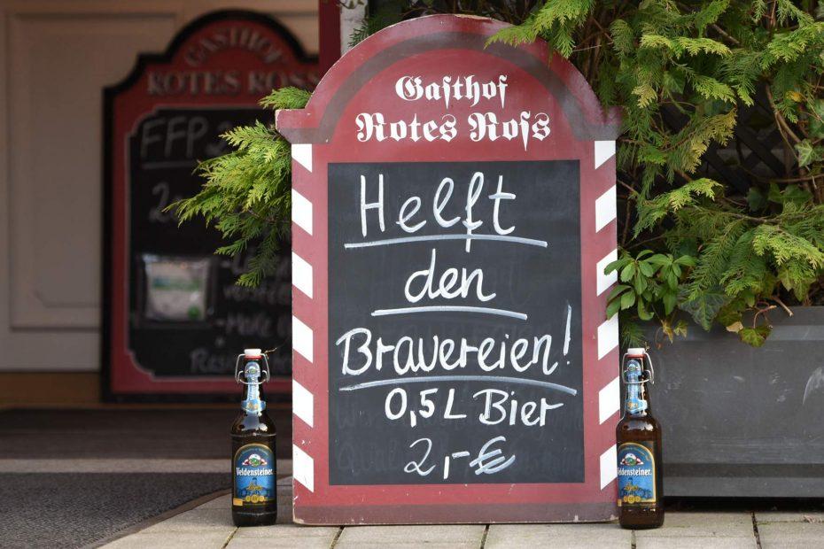 Bayerischer Bierabsatz geht 2020 um 4 Prozent zurück
