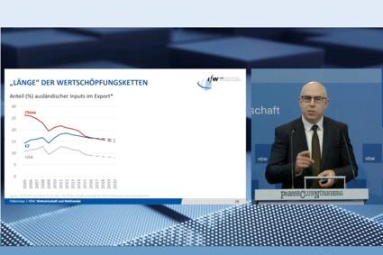 vbw: Globaler Handel sichert deutschen Wohlstand