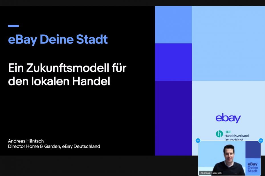Ebay startet lokalen Online-Marktplatz für Nürnberg