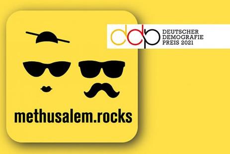 Deutscher Demografie Preis an Methusalem.Rocks