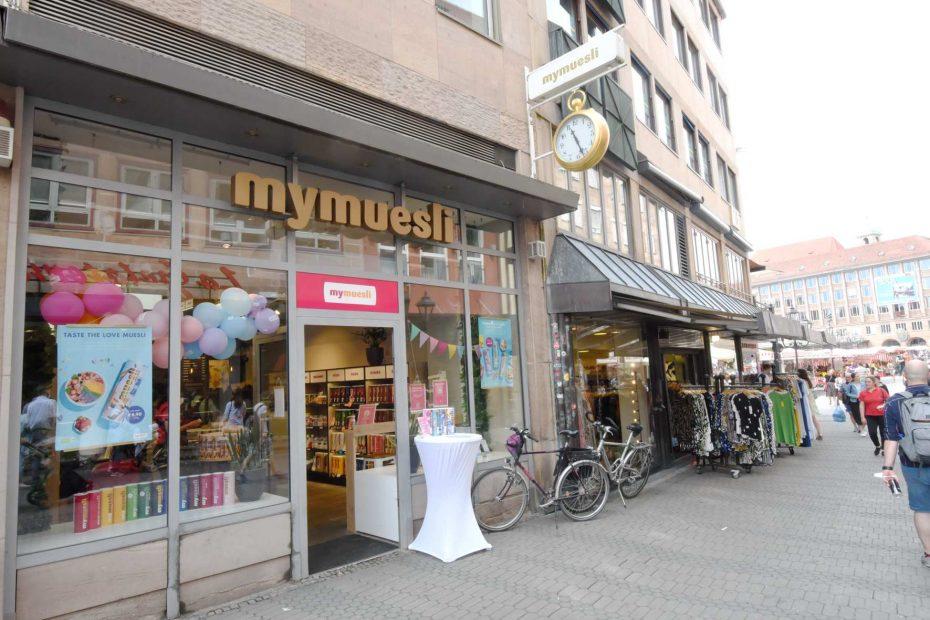 MyMuesli sperrt in Nürnberg zu