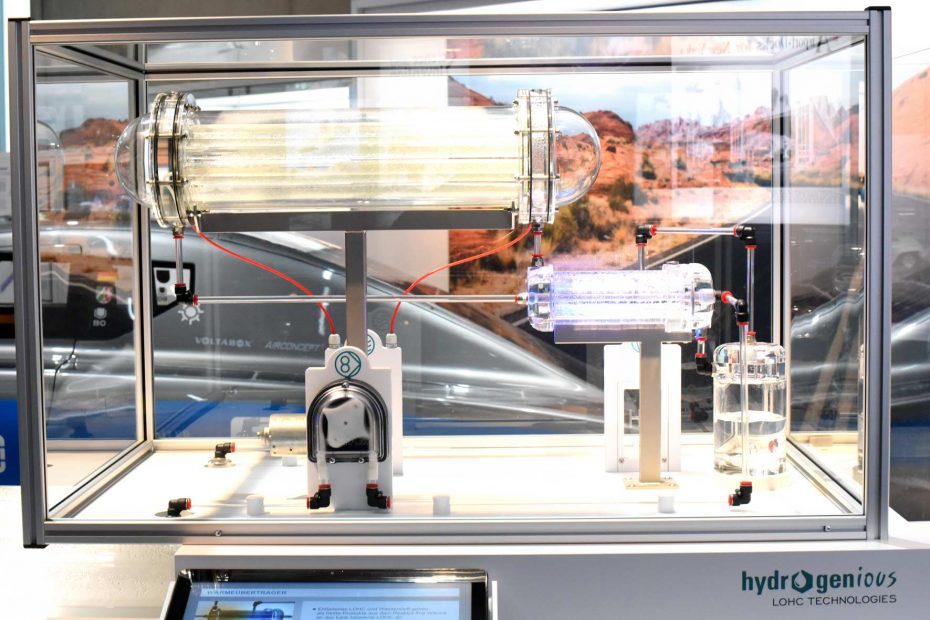 Hydrogenious will auf hohe See